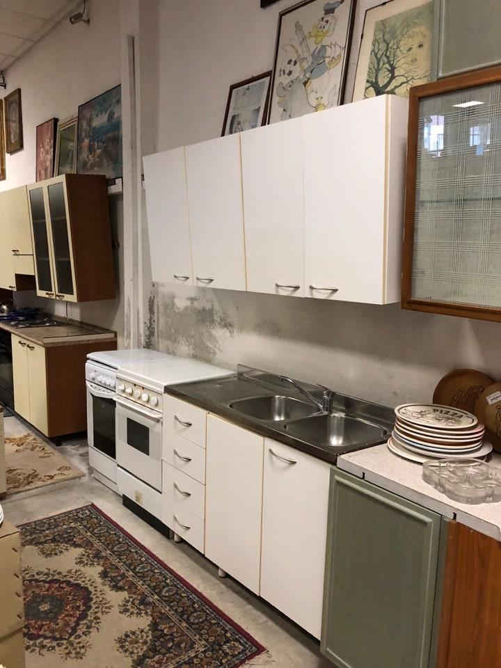 Cucina con forno piano cottura e lavandino mercatino di asti compra vendita di oggetti usati - Forno e piano cottura ...