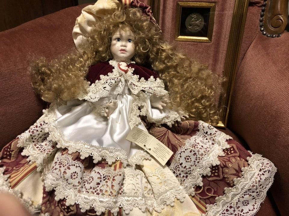 bambola in ceramica 1