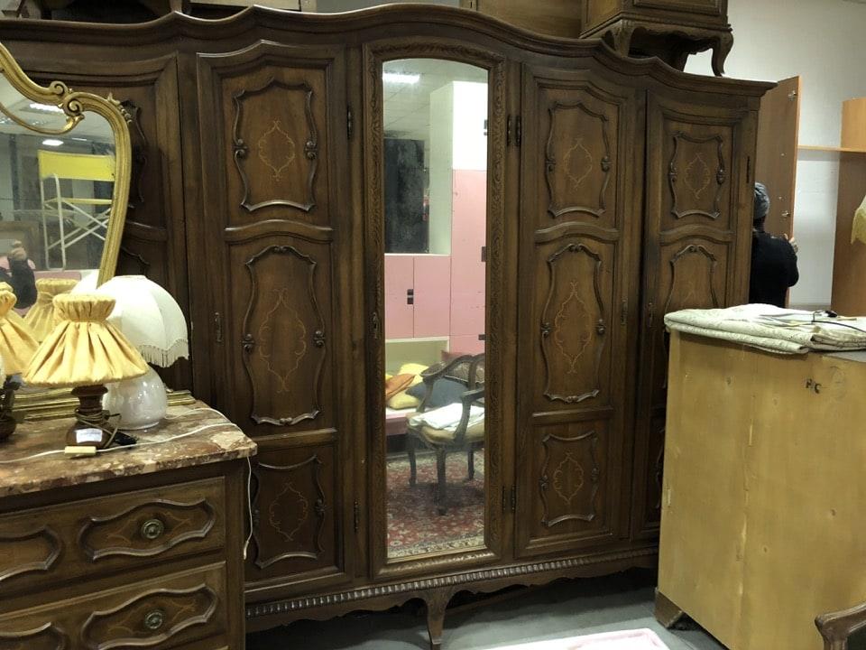 Camera da letto stile barocco completa | mercatino di asti ...